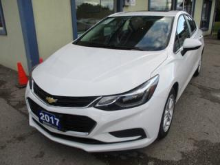 Used 2017 Chevrolet Cruze 'LIKE NEW' LT MODEL 5 PASSENGER 1.4L - TURBO.. HEATED SEATS.. BACK-UP CAMERA.. POWER SUNROOF.. WI-FI HOTSPOT.. BOSE AUDIO.. for sale in Bradford, ON