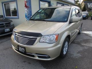 Used 2011 Chrysler Town & Country FAMILY MOVING TOURING MODEL 7 PASSENGER 3.6L - V6.. CAPTAINS.. STOW-N-GO.. POWER DOORS.. DUAL DVD.. BACK-UP CAMERA.. SUNROOF.. ECON-MODE PACKAGE.. for sale in Bradford, ON