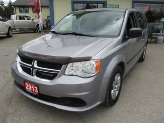 Used 2013 Dodge Grand Caravan FAMILY MOVING SE EDITION 7 PASSENGER 3.6L - V6.. REAR STOW-N-GO.. ALPINE TOUCH SCREEN.. BLUETOOTH.. KEYLESS ENTRY.. for sale in Bradford, ON
