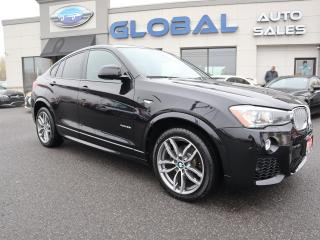Used 2016 BMW X4 xDrive35i M-SPORT. NAV. ALLOYS. for sale in Ottawa, ON