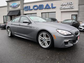 Used 2016 BMW 6 Series 640i XDRIVE GRAN COUPE M-SPORT ONLY 11K. for sale in Ottawa, ON