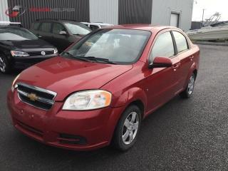 Used 2009 Chevrolet Aveo GAR. 1 AN for sale in St-Eustache, QC