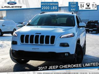 Used 2017 Jeep Cherokee LTD CUIR TOIT PANO for sale in Victoriaville, QC