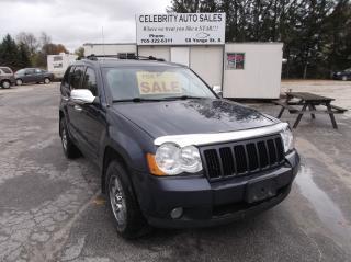 Used 2009 Jeep Grand Cherokee LARADO 4x4 for sale in Elmvale, ON
