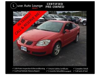Used 2007 Pontiac G5 SE w/1SA for sale in Orleans, ON