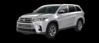 New 2019 Toyota Highlander XLE for sale in Renfrew, ON