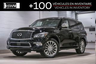 Used 2016 Infiniti QX80 Tech 7 Passagers for sale in Montréal, QC