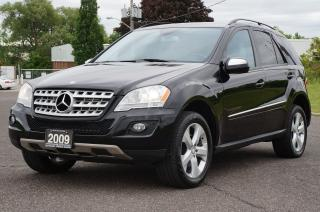 Used 2009 Mercedes-Benz ML 320 4MATIC Diesel Low KM *No Accident* Mint! for sale in North York, ON