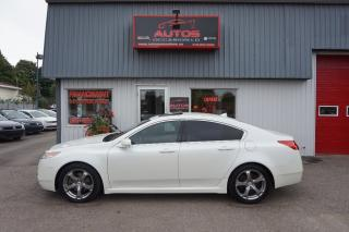 Used 2009 Acura TL Sh-Awd Blanc for sale in Lévis, QC