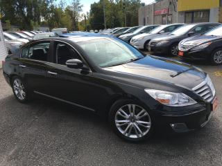Used 2010 Hyundai Genesis TECH PKG/ NAVI/ REVERSE CAMERA/ LEATHER/ SUNROOF for sale in Scarborough, ON
