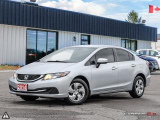 Used 2014 Honda Civic LX,LOW KMS,NEW TIRES,B.TOOTH,HEATED SEATS for sale in Barrie, ON
