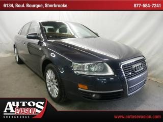 Used 2007 Audi A6 3.2 Quattro + Cuir for sale in Sherbrooke, QC