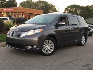 Used 2013 Toyota Sienna XLE-LIMITED-AWD-NAVIGATION-TV-DVD-PANO-SUNROOF for sale in Mississauga, ON