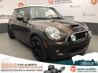 Used 2010 MINI Cooper Hardtop S - Automatic - Leather Heated Seats - Sunroof - Low KM!! for sale in Edmonton, AB