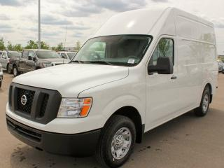 New 2018 Nissan NV 2500 Cargo S 3dr RWD High Roof Cargo Van for sale in Edmonton, AB