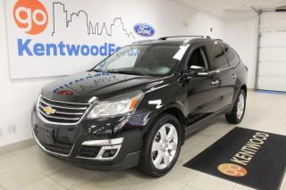 Used 2016 Chevrolet Traverse 3 MONTH DEFERRAL! *oac | LT | AWD | 8 Seater | Heated Cloth | Sunroof for sale in Edmonton, AB