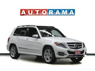 Used 2015 Mercedes-Benz GLK 250 BLUETECH NAVIGATION LEATHER PAN SUNROOF 4WD for sale in Toronto, ON