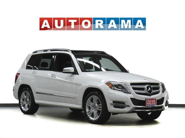 2015 Mercedes-Benz GLK 250 Bluetech 4WD Navigation Leather Panoramic Sunroof