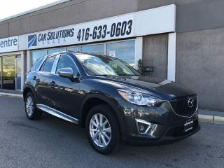 Used 2014 Mazda CX-5 GS-NAVI-SUNROOF-AWD for sale in Toronto, ON