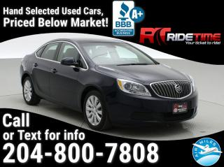 Used 2016 Buick Verano Base for sale in Winnipeg, MB