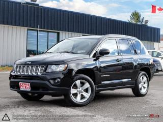 Used 2015 Jeep Compass Sport,4X4,REMOTE STARTER,LEATHER/CLOTH for sale in Barrie, ON