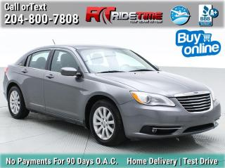 Used 2013 Chrysler 200 Touring for sale in Winnipeg, MB
