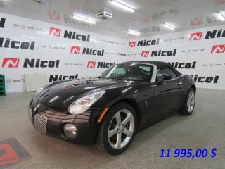 Used 2008 Pontiac Solstice for sale in La Sarre, QC