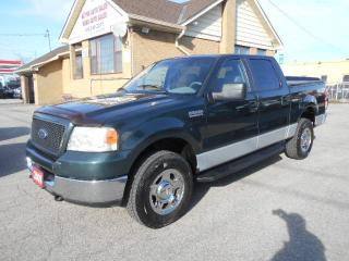 Used 2005 Ford F-150 XLT Crew Cab 4X4 5.5Ft Box Certified ONLY 164,000K for sale in Rexdale, ON