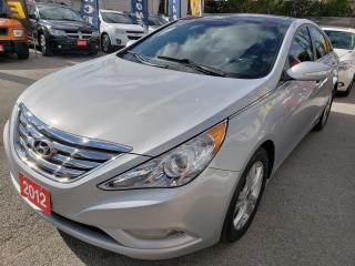 Used 2012 Hyundai Sonata Navi/Bluetooth/Back-up Camera/Leather/Roof/MINT! for sale in Scarborough, ON