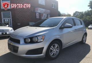 Used 2013 Chevrolet Sonic LT/ONE OWNER/NO ACCIDENT/CERTIFIED/WARRANTY INCL for sale in Cambridge, ON