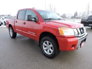 Used 2012 Nissan Titan SV. 4X4. 5.6L V8. Low mileage for sale in Gorrie, ON