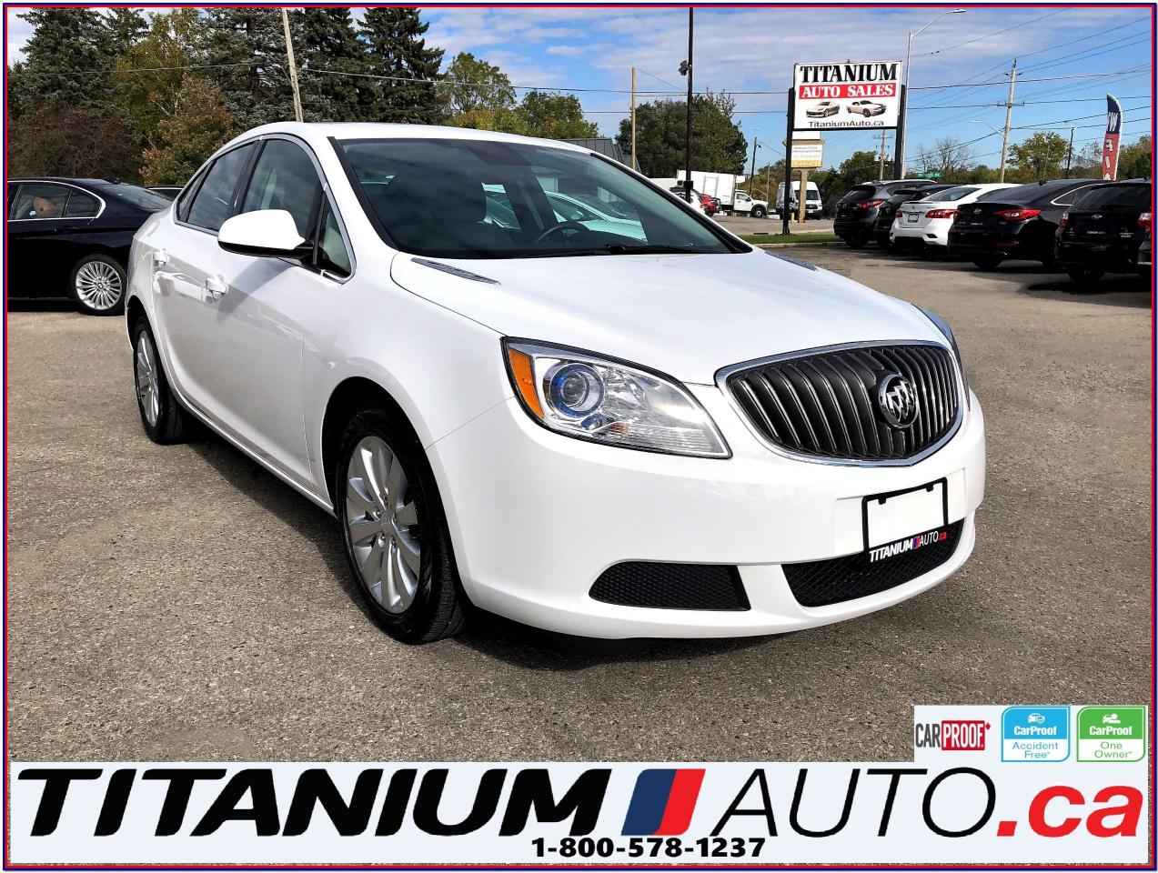 Used 2016 Buick Verano Camera Heated Power Seats Remote Start Eco Xm Rear View For Sale In London Ontario