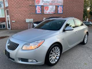 Used 2011 Buick Regal CXL w/1SB/NO ACCIDENT/CERTIFIED/WARRANTY INCLUDED for sale in Cambridge, ON