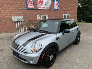 Used 2009 MINI Cooper Hardtop/6 SPPED/CERTIFIED/WARRANTY INCLUDED for sale in Cambridge, ON