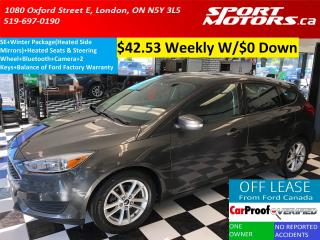 Used 2015 Ford Focus SE+Camera+Bluetooth+Heated Steering Wheel & Seats for sale in London, ON