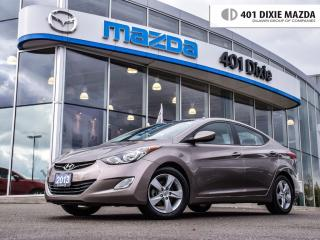 Used 2013 Hyundai Elantra GLS, NO ACCIDENTS, FINANCE AVAILABLE for sale in Mississauga, ON