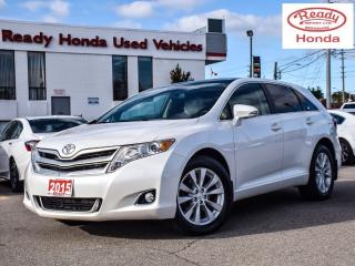 Used 2015 Toyota Venza XLE AWD | Navigation | Leather | Pano Roof for sale in Mississauga, ON