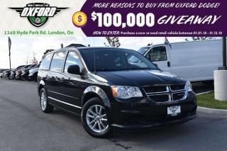 Used 2015 Dodge Grand Caravan SXT -  full stow and go, bluetooth, back up cam for sale in London, ON