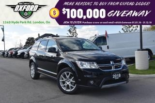 Used 2018 Dodge Journey GT - 7 passenger, heated seats, bluetooth for sale in London, ON