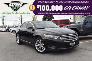Used 2013 Ford Taurus SEL - Remote Start, GPS, Sunroof, Parksense for sale in London, ON