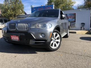Used 2009 BMW X5 AWD 4dr 48i amazing condition low km accident free for sale in Brampton, ON