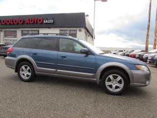 Used 2009 Subaru Outback 2.5i AWD PANORAMIC SUNROOF ALLOYS CERTIFIED for sale in Milton, ON