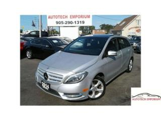 Used 2014 Mercedes-Benz B-Class Sports Navigation/Cam/Pano Roof/Xenon for sale in Mississauga, ON