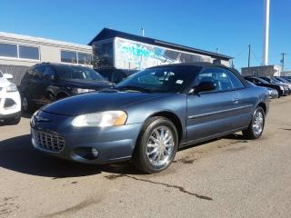 Used 2003 Chrysler Sebring Limited  for sale in Calgary, AB