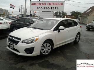 Used 2014 Subaru Impreza Prl White Auto AWD Btooth/Parking sensors &GPS* for sale in Mississauga, ON