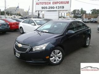 Used 2014 Chevrolet Cruze 1LT Auto Bluetooth/All Power &GPS*$39/wkly for sale in Mississauga, ON