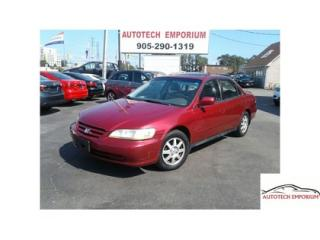 Used 2002 Honda Accord SE Auto Alloys/Sunroof  *Trade Special* for sale in Mississauga, ON