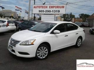Used 2014 Nissan Sentra 1.8 S Auto Bluetooth/All Power Options &GPS* for sale in Mississauga, ON