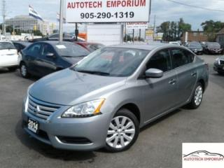 Used 2014 Nissan Sentra Auto Bluetooth/All Power/Keyless &GPS* for sale in Mississauga, ON