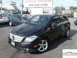 Used 2014 Mercedes-Benz B-Class Sports Navigation/Pano Roof/Blind Spot for sale in Mississauga, ON